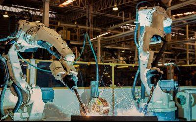 La robotización industrial crece años tras año en china