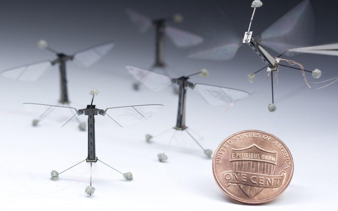 RoboBees: Microrobots voladores autónomos
