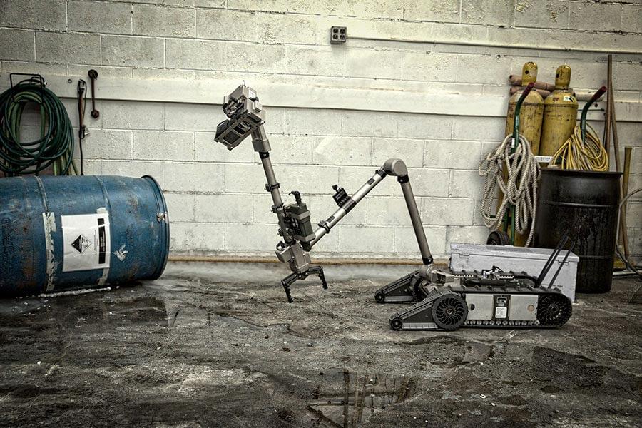 FLIR gana contratos para proporcionar robots terrestres a las unidades de defensa y policía de Noruega