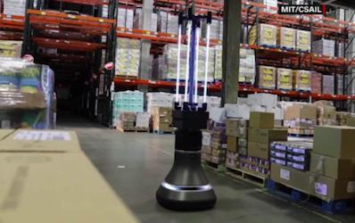Este robot autónomo puede matar más del 90% de los coronavirus presentes en las superficies