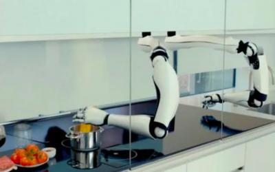 Desarrollan el primer 'chef-robot' para el hogar