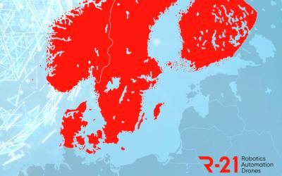 R-21 Nuevo evento nórdico del 3 al 5 de marzo de 2021: robótica, automatización y drones