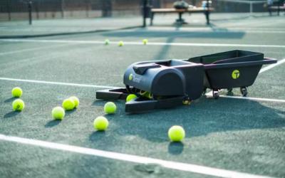 Tennibot, el robot que te ayuda a disfrutar más del tenis