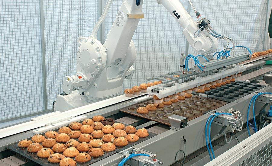 Cómo los robots ayudan a los procesadores a navegar la pandemia COVID-19