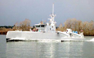Sea Hunter, el barco robot que caza submarinos