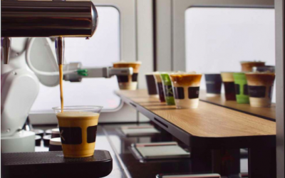 Café X instala un barista robot en el aeropuerto de Silicon Valley