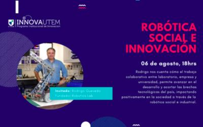 Webinar: Robótica Social e Innovación