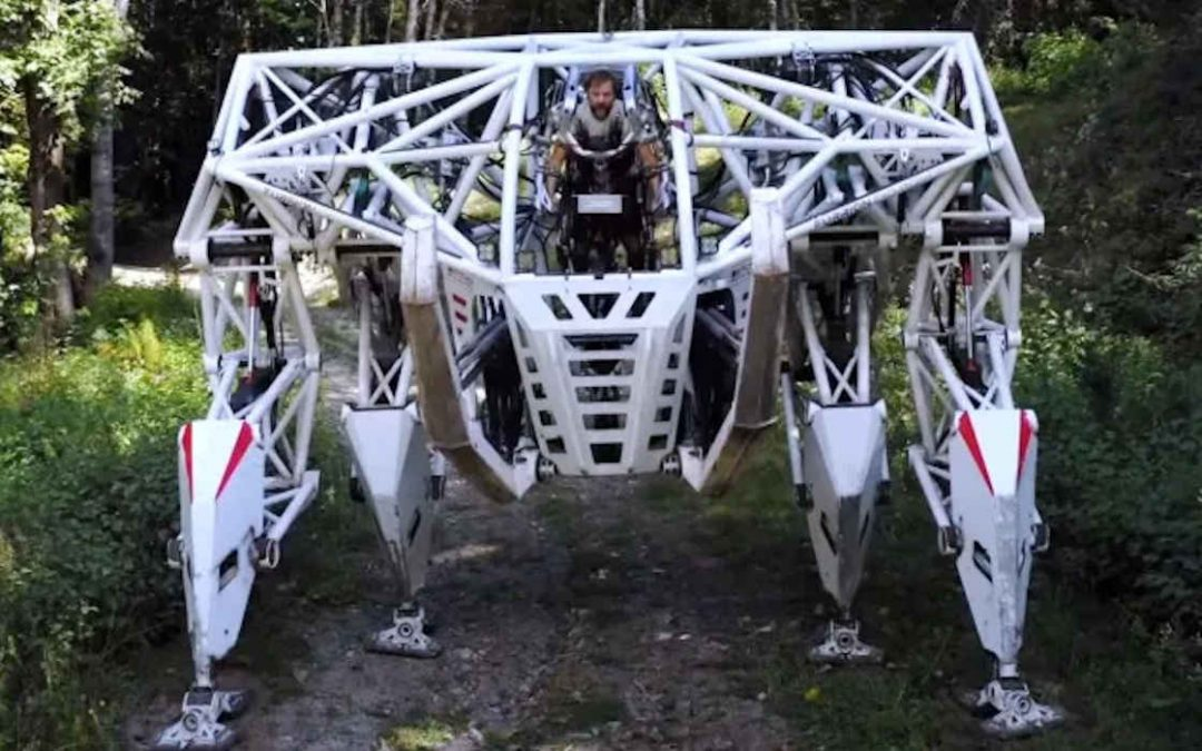 Enorme robot de estilo «Pacific Rim», creado por una start-up canadiense
