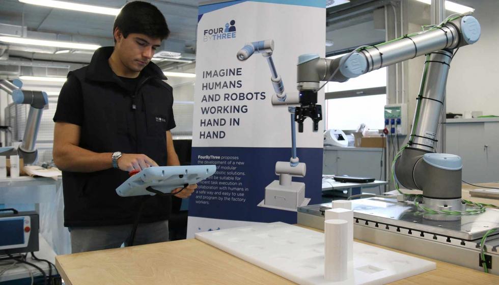 Robótica colaborativa modular, eficiente y segura para las fábricas del futuro