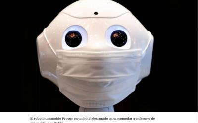 Robots sociales en tiempos de pandemia: ¿ángeles de la guarda o mala influencia?