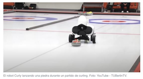 Un robot consigue derrotar a un equipo de deportistas profesionales