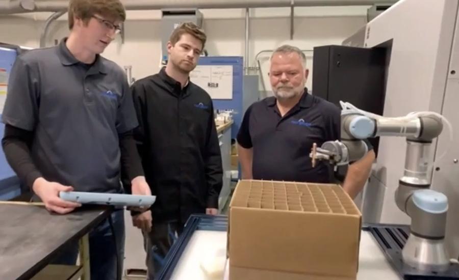 Los cobots aumentan la productividad en un fabricante aeroespacial