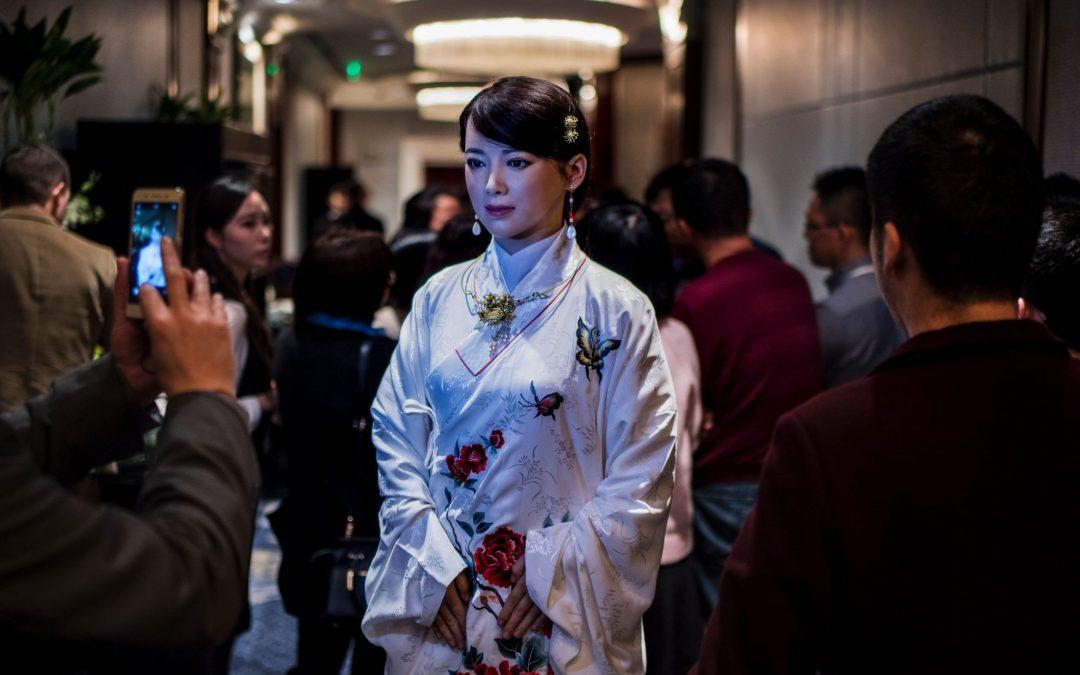Conoce a Jai Jai: el primer robot con apariencia humana de China que puede chatear con la gente