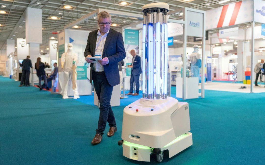 Robots Ultravioleta, la Nueva Arma Europea contra el Virus