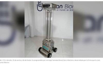Robot Colombiano para Tiempos de Pandemia