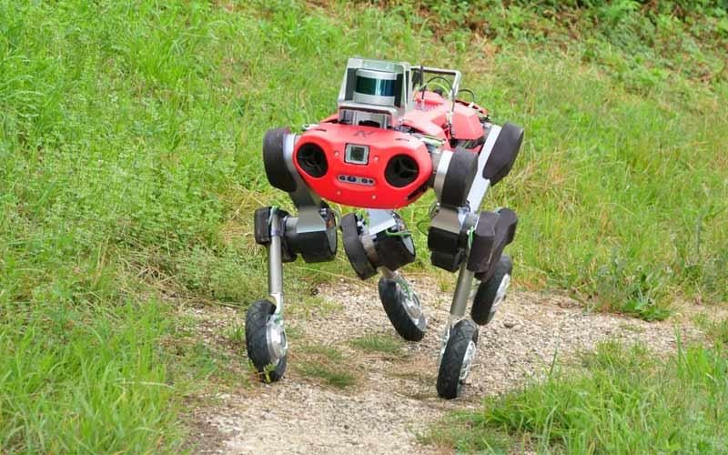 El robot ANYmal obtiene un nuevo y útil juego de ruedas