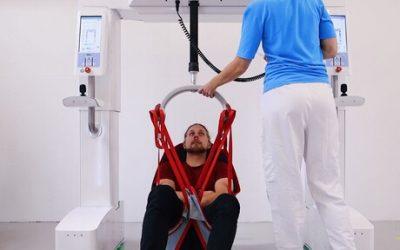 El Robot de Elevación Móvil Moviliza y Rehabilita a los Pacientes