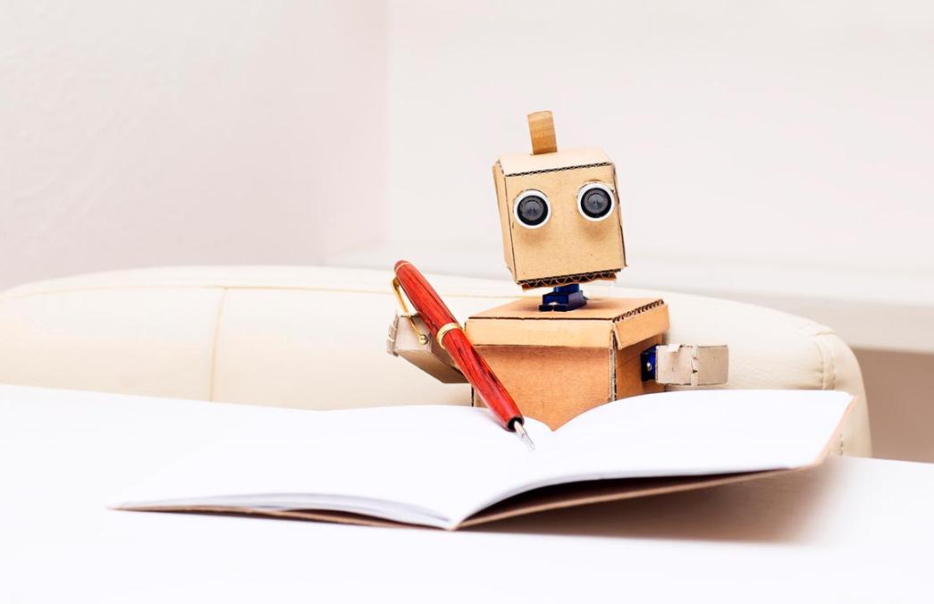 Enseñar a Escribir a los Robots