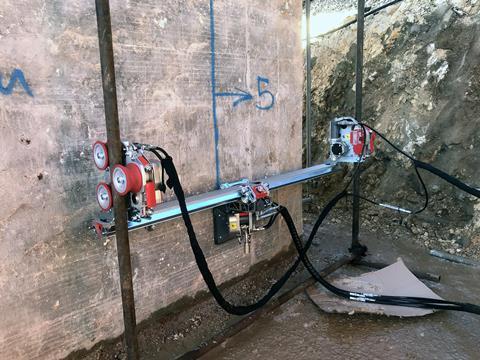 Innovación Robótica en Hidrodemolición