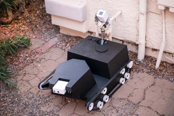 Yardroid, un Robot Inteligente que puede Automatizar el Trabajo de Jardinería