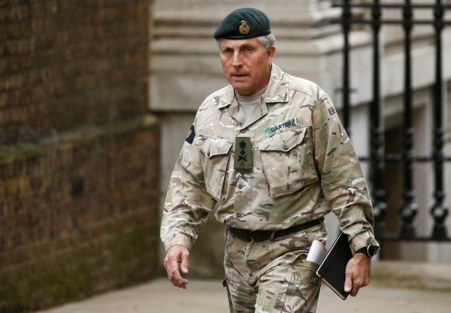 Un general del Reino Unido dice que una Cuarta Parte del Ejército podrían ser Robots para la Década de 2030