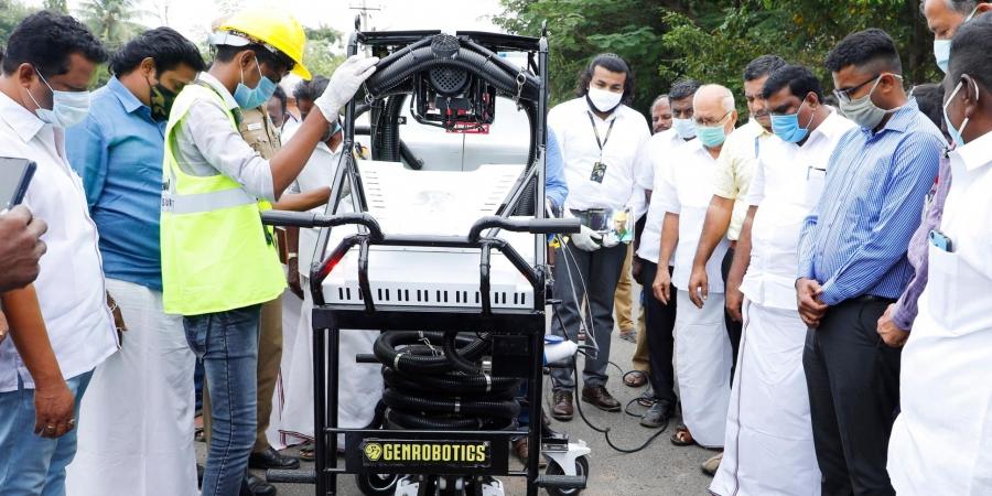 El Robot Bandicoot se abrirá paso en las alcantarillas de Nagapattinam