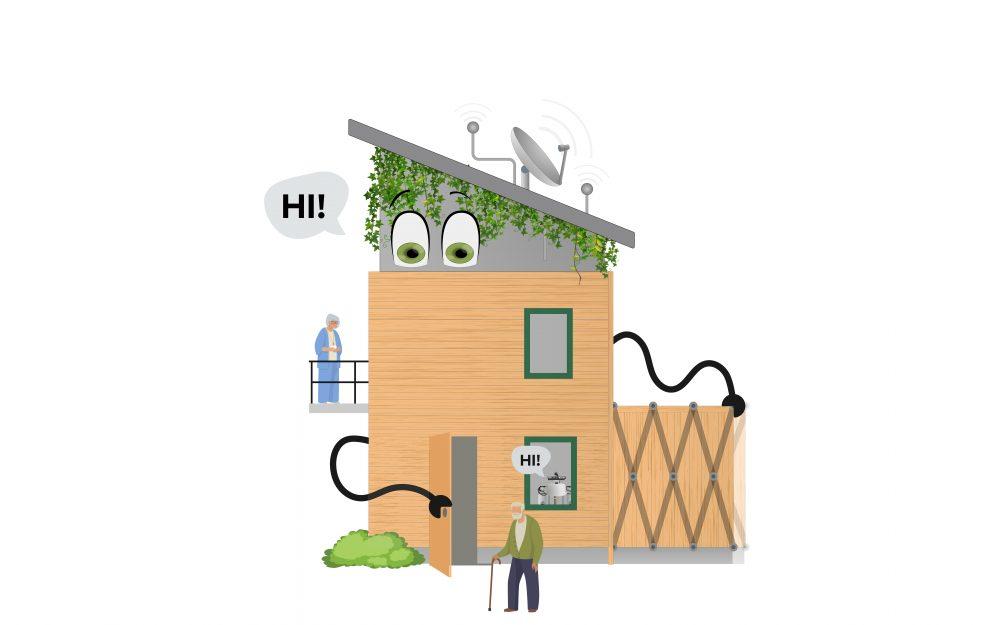 Vivir en un Robot: 'una casa literalmente tiene que adaptarse a sus ocupantes'