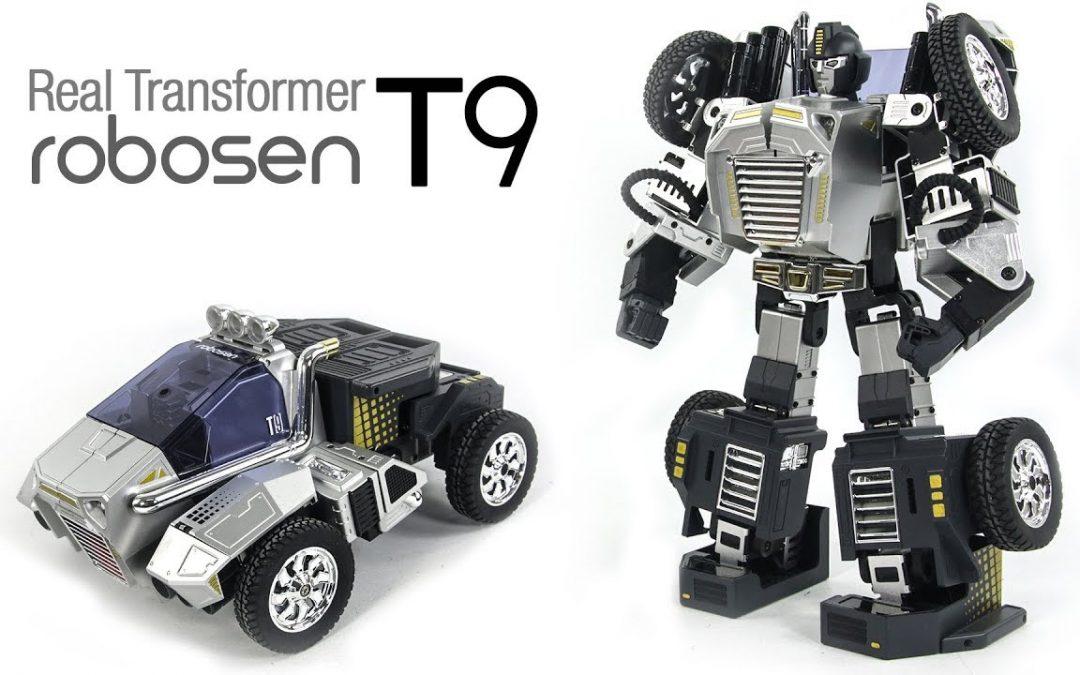 El robot programable Robosen T9 se convertirá en un gran regalo de Navidad para usted: el descuento vence en unas pocas horas