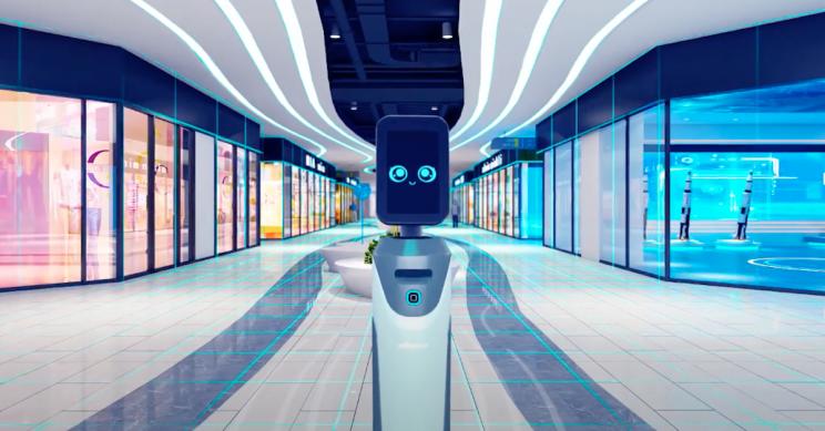 Los nuevos robots ofrecen soluciones seguras para COVID para eventos en vivo