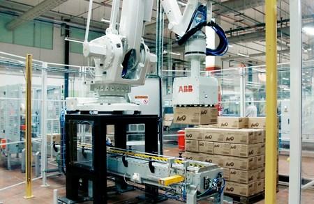 Célula de paletizado de ABB aumenta un 53% la producción de Nestlé