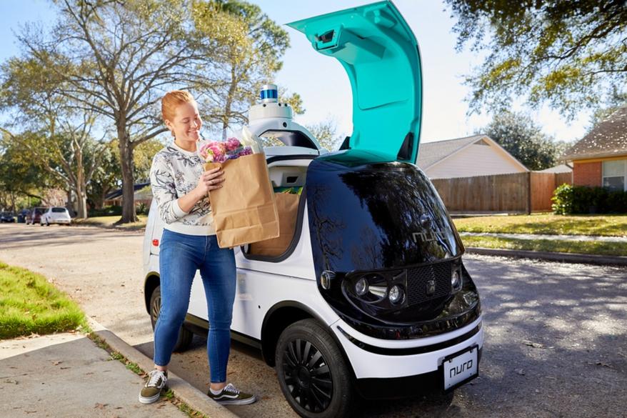 California autoriza el servicio de delivery con robots para 2021