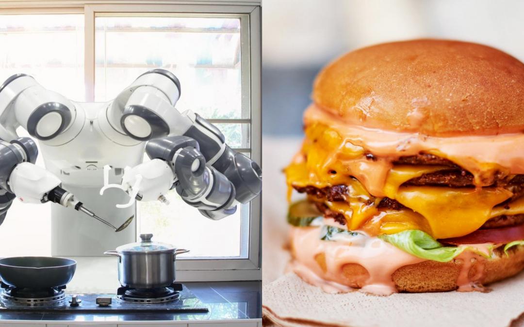 """""""Cocinando en el futuro"""". MiFood la empresa de comida rápida cuyo chef es un Robot"""