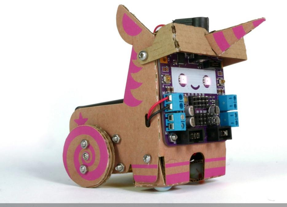 Un Robot para Armar en Casa con Cartones y Circuitos