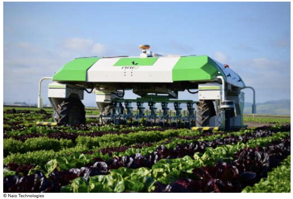 El robot está listo para la conquista del sector agrícola
