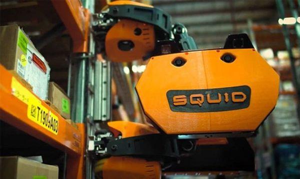 Squid: El Robot Calamar Logístico Presentado en CES 2021