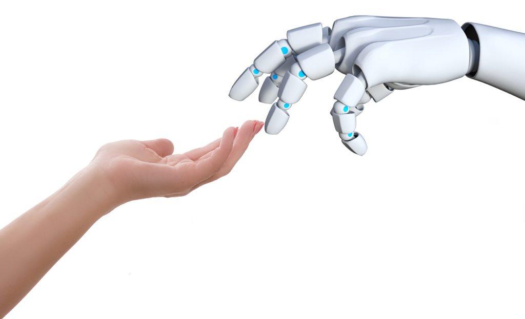 Los robots se están poniendo en contacto