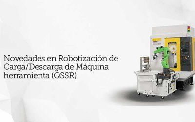 Fanuc celebra un webinar sobre carga y descarga robotizada de máquina-herramienta