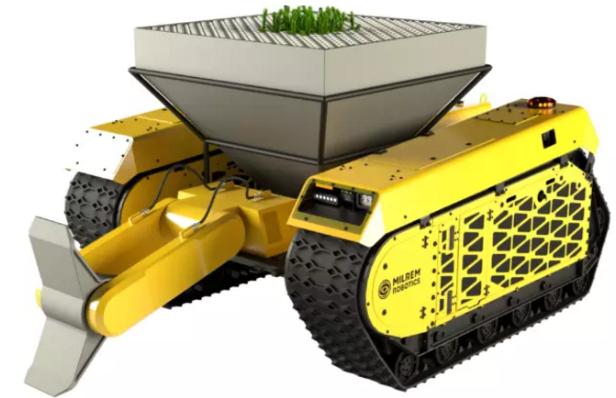 Este robot podría ayudar a plantar 1 billón de árboles