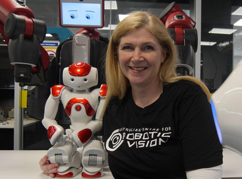 Veinte mujeres dejando su huella en robótica y automatización