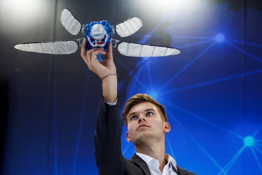 Este proyecto liderado por un español experto en robótica aérea podría ahorrar 13.500 millones de euros a las empresas
