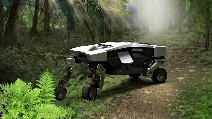 Hyundai presenta llamativo vehículo robótico inteligente diseñado para transportar carga