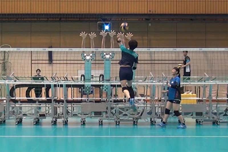 La Máquina Robotizada de Voleibol que Ayuda al equipo de Japón a Practicar Ataques