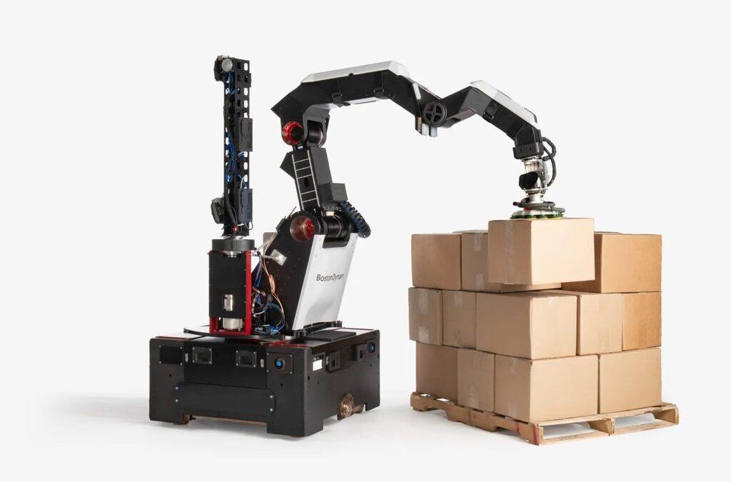 Boston Dynamics presenta Nuevo Robot para Automatización de Almacenes