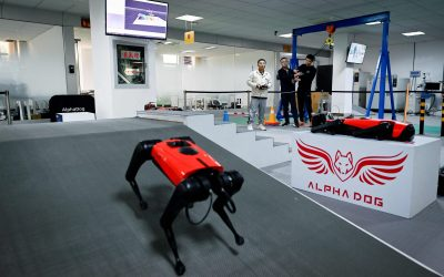 Conoce al AlphaDog: empresa china desarrolla perros robot