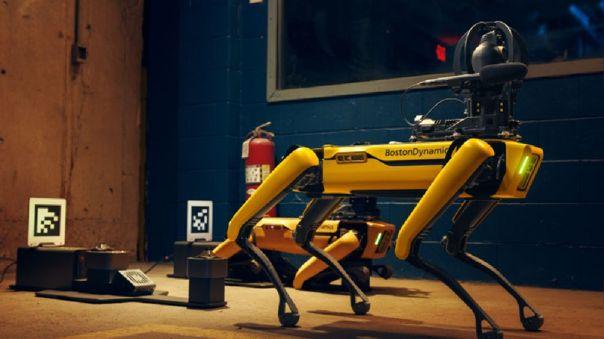 """Policía de Nueva York ya usa al perro robot """"Spot"""" para vigilar las calles"""