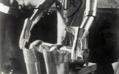 La palabra robot nació hace cien años