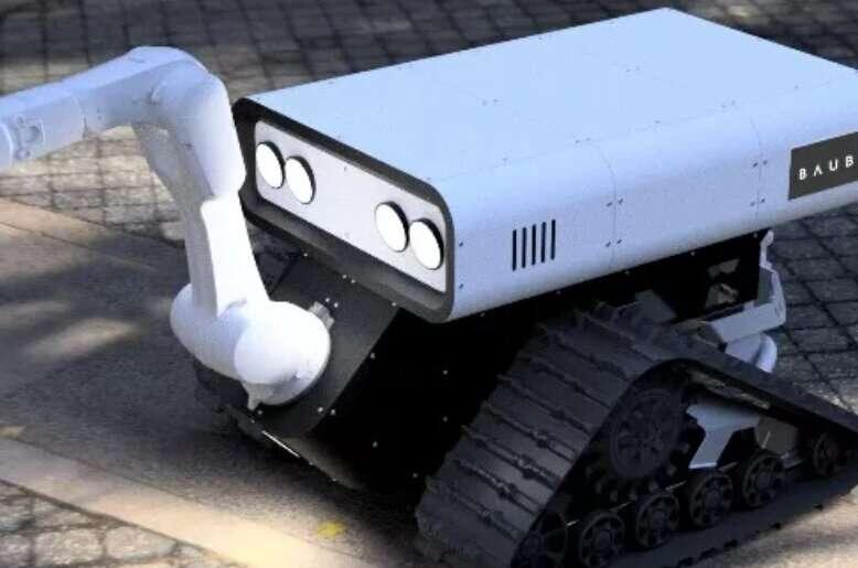 Baubot presenta dos nuevos robots para ayudar en proyectos de construcción