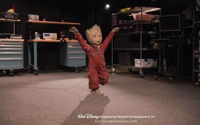 Disney presenta sus nuevos robots bípedos: Groot ya puede andar y bailar