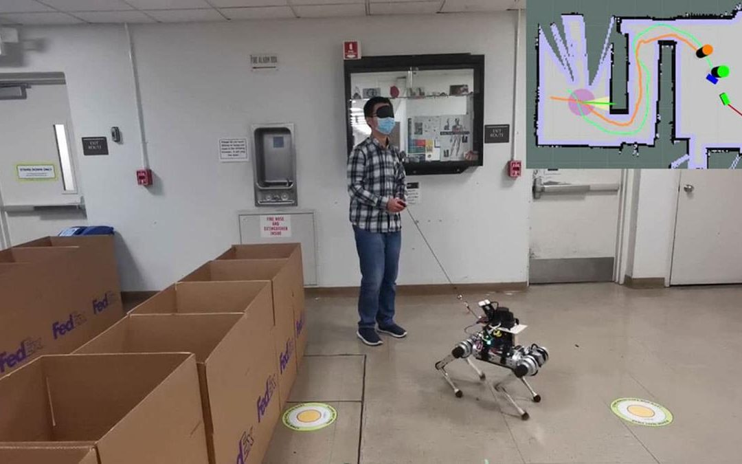Fabrican el primer perro robot capaz de guiar a personas ciegas con suma precisión