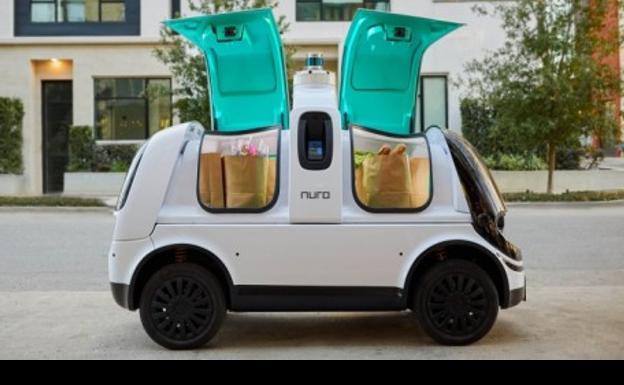 Toyota y Nuro crean un curioso robot de reparto a domicilio